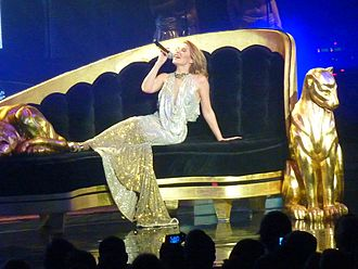 Confide in Me - Minogue performing the song during her 2009 North American For You, For Me tour.