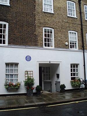 John Reith, 1st Baron Reith - 6 Barton St, London SW1 Reith's home 1924–30