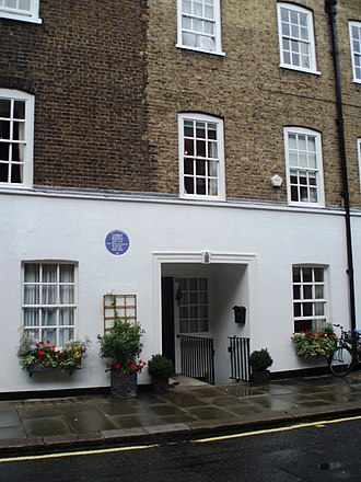 John Reith, 1st Baron Reith - 6 Barton St, London SW1 Reith's home 1924–30