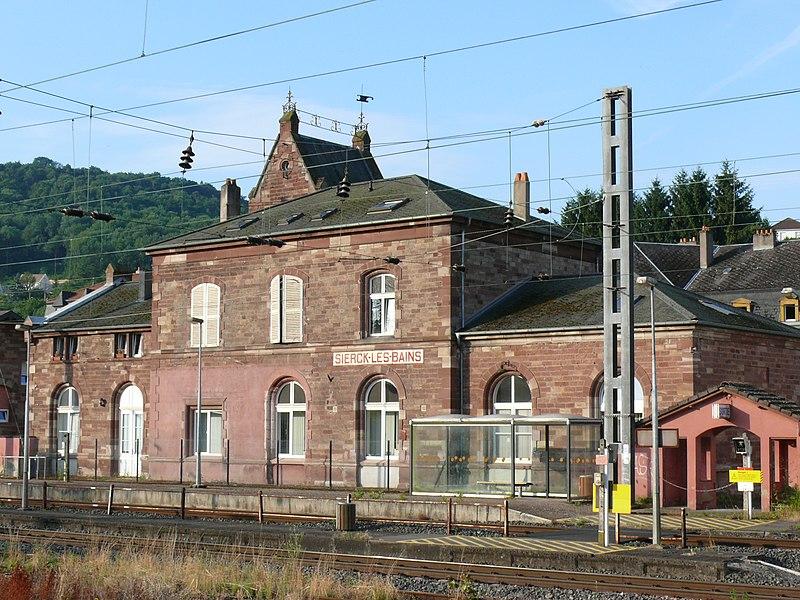 Gare de Sierck-les-Bains