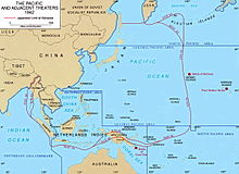 A map of the Asia-Pacific region