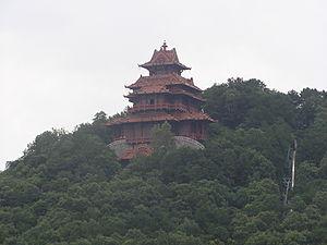 Pagode Moshan Hill Wuhan