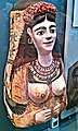 Painted Plaster Cartonnage Mask of a Woman (Roman Period, About 100-120 AD) - British Museum.jpg