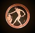 Pais (Médaillon central) – Coupe – peintre de la Cage – MSR – Rituels Grecs – AGER inv G 133.jpg