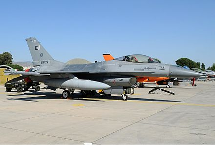 The PAF F-16s had valuable significance for the patrolling missions but none of the F-16s took active participation in the conflict. - Kargil War