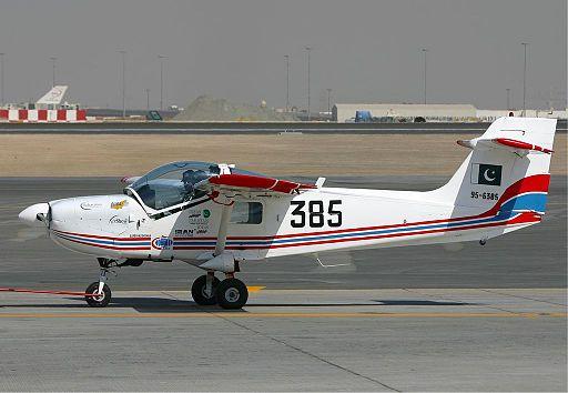 Pakistan MFI-17 Super Mushshak Ryabtsev