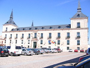 Herrerian - Ducal Palace of Lerma, in the Burguese municipality of Lerma.