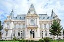 Palatul Constantin Mihail, (azi Muzeul de Artă) vedere centrală.JPG