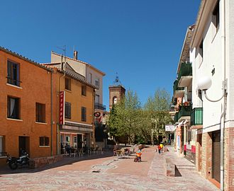 Palau-del-Vidre - Town centre of Palau-del-Vidre