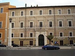Palazzo Cesi-Armellini building in Rome, Italy
