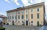 Palazzo Martinengo Cesaresco Novarino facciata Piazza del Foro Brescia.jpg