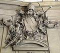 Palazzo corsini, scalone monumentale, stemma 02 corsini.JPG
