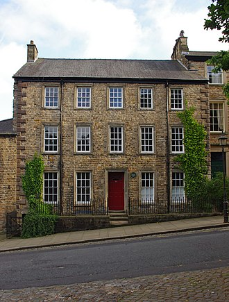 Sharpe, Paley and Austin - Offices of the practice in Castle Hill, Lancaster, from 1860 until it closed in 1946