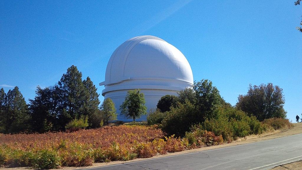 Cúpula del observatorio del Monte Palomar (California, Estados Unidos).