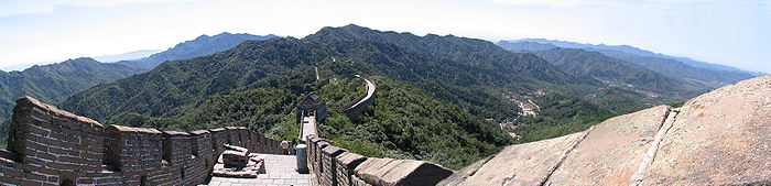 Panorama zidului chinezesc