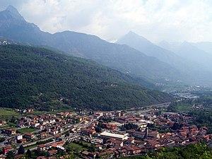 Capo di Ponte - Image: Panorama Capo di Ponte (Foto Luca Giarelli)