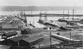 Par, Cornwall - Par Harbour in the early 20th century
