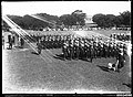 Parade of Royal Australian Navy in the Domain, Sydney, c 1915 (8143261528).jpg