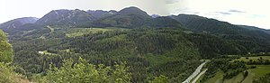 Cavalese - Image: Parco della pieve