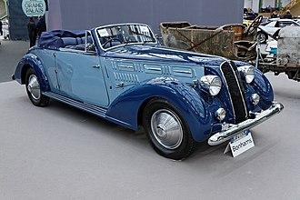 Lancia Astura - 1936 Lancia Astura 3rd Series Cabriolet