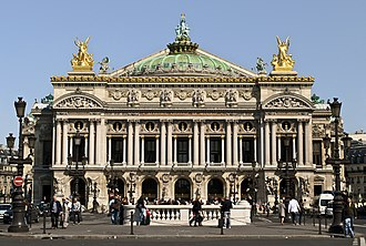 "Paris - The Paris Opera was the centrepiece of Napoleon III's new Paris. The architect, Charles Garnier, described the style simply as ""Napoleon the Third."""