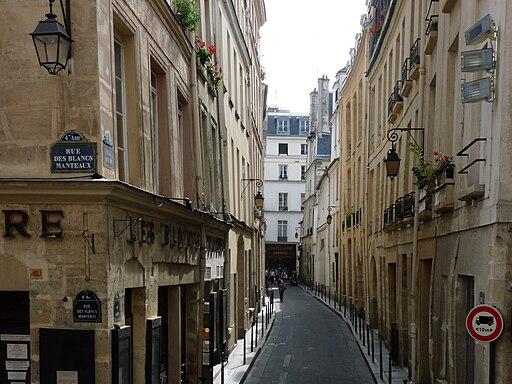 Paris rue aubriot
