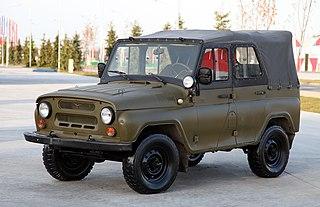 military utility vehicle of Soviet origin