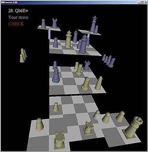 Three-dimensional chess - Playing Parmen