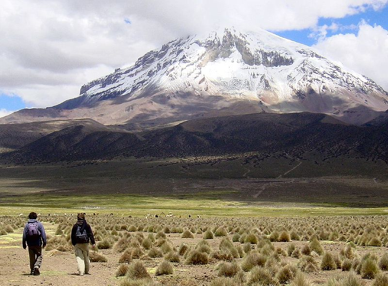 File:Parque Nacional Sajama - Nevado Sajama - Oruro - Bolivia.jpg