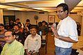 Partha Sarathi Banerjee - Editing Session - Wikilearnopedia - Oxford Bookstore - Kolkata 2015-08-23 3561.JPG