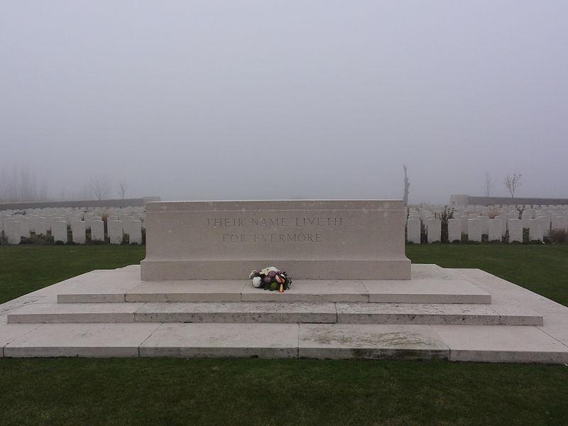 Passchendaele New British Cemetery in Passendale.Passchendaele New British Cemetery. Passendale, Zonnebeke, West Flanders, Belgium