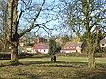 Pasture and houses, Wickham - geograph.org.uk - 1231007.jpg