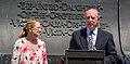 Patricia Rawls and Waite Rawls - Confederate Memorial Day - Arlington National Cemetery - 2014.jpg