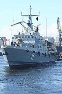 Patrol boat Triglav front