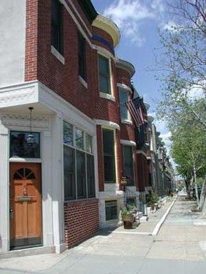 Patterson Park (neighborhood), Baltimore - 100 Block of North Lakewood Ave