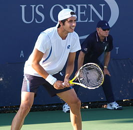 Paul Capdeville op de US Open in 2008