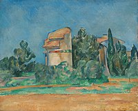 Paul Cézanne - The Pigeon Tower at Bellevue - 1936.19 - Cleveland Museum of Art.jpg