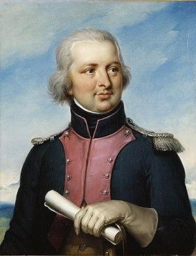 Gabriel-Marie-Theodore-Joseph d'Hédouville, Capitaine au 6e de Chasseurs à Cheval en 1792, Jean-Baptiste Paulin Guérin, 1835, musée national des châteaux de Versailles et de Trianon