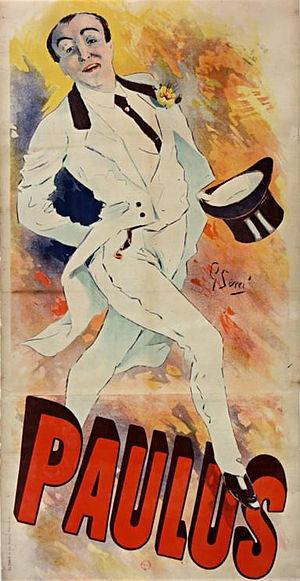 Sem (artist) - Goursat's first poster (1891).