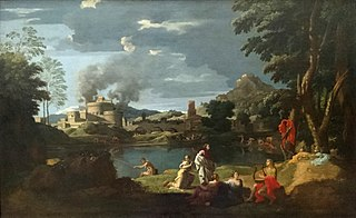 Landscape with Orpheus and Eurydice