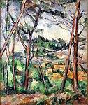 Paysage des environs d'Aix, par Paul Cézanne, Carnegie Museum of Art.jpg