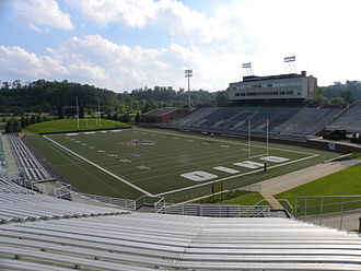 Peden Stadium - Image: Peden Stadium Interior