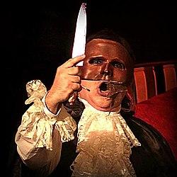Pedro Pomares como el Fantasma de la Ópera