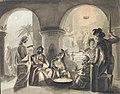 Peetrus salgab Kristust, Eduard von Gebhardt, EKM j 153-386 M 209.jpg