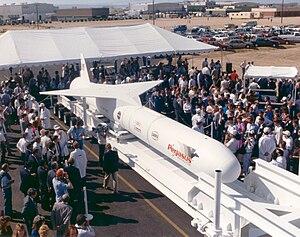 Pegasus (rocket) - Image: Pegasus GPN 2003 00045