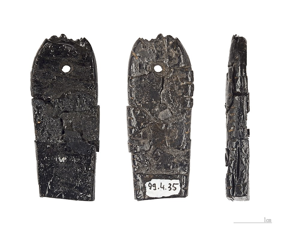 Pendeloque en lignite Marsoulas MHNT.PRE.2012.0.6.95