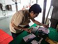 People Stamping Temporary Postmark on Memorial Covers 20140327.jpg