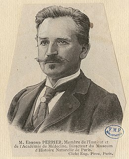 Edmond Perrier French zoologist