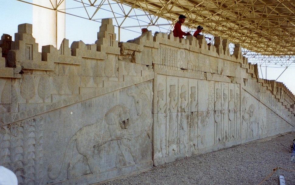 Persepolis Apadana Eastern Stairway