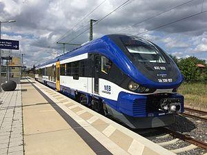 Niederbarnimer Eisenbahn - A PESA Link DMU operated by NEB.